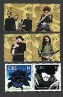 Ireland-Rock Stars Legends 2002 & Thin Lizzy 2019 sets mnh