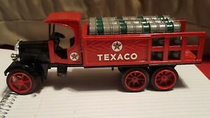 "1992 Ertl (Texaco)  ""1925 Kenworth Stake Truck Coin Bank"""