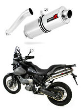 XT 660 Z TENERE Exhaust OVAL Dominator Racing silencer muffler 2008 - 2016