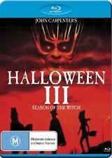 Halloween 3 Season of the Witch NEW B Region Blu Ray