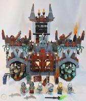 LEGO Castle 7097 Trolls' Mountain Fortress 100% Complete w/ Manuals