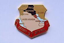 1991 Desert Storm Veteran Lapel / hat Pin, IRAQ, Saudi Arabia