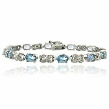 Markenlose Armbänder mit Edelsteinen im Kette-Stil