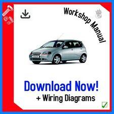 CHEVROLET Kalos  Aveo Workshop Service Repair Manual 2006 - 2009 DOWNLOAD
