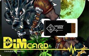 Bandai Vital Breath Shadow Howl Dim Card Digimon Japan Limited Not for sale