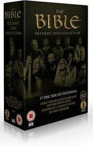 THE BIBLE COMPLETE SERIES ULTIMATE COLLECTION DVD BOX SET 17 DISC R4 NEW&SEALED