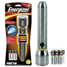 Energizer LED Vision HD Metal Torch with x6 AA batteries - 1300 Lumens S112118