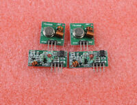 High Quality 2Pcs / 2 Sets 433Mhz RF Transmitter And Receiver Kit For Arduino