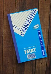 Club Carbonless Duplicate book - 8 x 5 inches - K76383