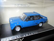 FIAT 131 ABARTH Bleu NOREV