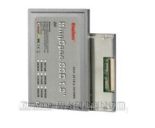 "Kingspec 128GB 1.8"" ZIF LIF PATA SSD MLC Drive For ipod video dell D420/D430"