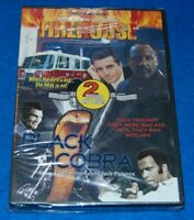 Firehouse/Black Cobra DVD, New & Factory Sealed