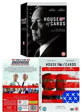 HOUSE OF CARDS 1-4+5 (2013-2016) US Political Drama TV Seasons Series NEW DVD UK