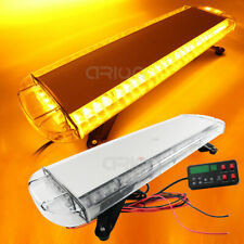 "30"" LED Warning Emergency Beacon Lightbar Truck Wrecker Strobe Light bar Amber"