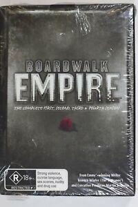 Boardwalk Empire : Season 1-4 (DVD 2014 19-Disc) Region 4  - New Sealed (D857)