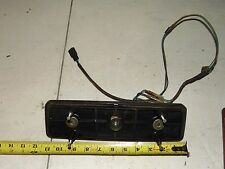 Vintage 85 Yamaha Bravo 250 Snowmobile Taillight Housing