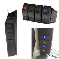 A Pillar Switch Panel Kit 4 LED Pod Left Hand for Jeep Wrangler 11-17 JK 2DR/4DR