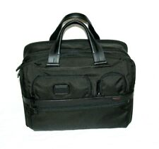 New Tumi T-Pass Expandable Laptop Ballistic Nylon Briefcase 26141D2U Retail $455