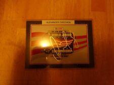 Alexander Ovechkin Autographed  2005 World Junior Championships Grand Forks, N.D