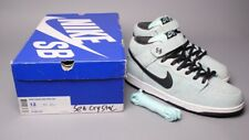 Nike Dunk Mid Pro SB Dark Charcoal Sea Crystal  Sz 13 314383 301 Tiff Diamond
