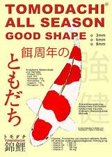 Koifutter, Schwimmfutter 8mm Pellets, Koi Aufzuchtfutter Tomodachi AllSeason 5kg