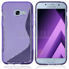 Samsung GALAXY A5 2017 TPU Anti-Scratches Soft Gel Silicone Cover Case