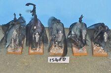 skeletal cavalry 5 black knights vampire counts tomb kings warhammer (15410)