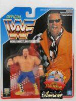 Hasbro Figure WWF WWE Jim Neidhart Wrestling 1993 Blue US card Vintage The Anvil