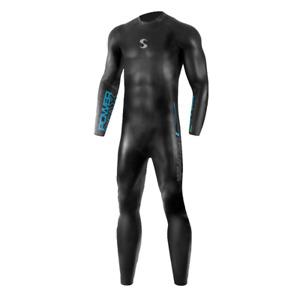 Synergy Men's Volution Fullsleeve Triathlon Wetsuit- Sz M1 - 5'8-6'1 & 155-170