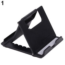 Black Universal Folding ABS Charming Holder Stand Mount For iPhone iPad Tablet