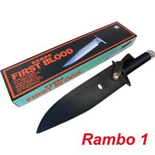 Rambo Part 1 First Blood Part I Survival Knife Stallone New (Rambo-1)