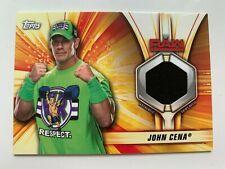JOHN CENA Topps 2019 WWE Summer Slam Shirt Relic SR-JC #'/199