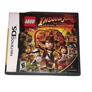 LEGO INDIANA JONES: THE ORIGINAL ADVENTURES GAME  (Nintendo DS, 2008)  TESTED