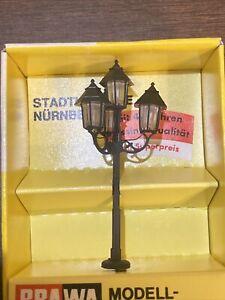 Brawa 5173 H0 Black Street Light Lamp Lamppost HO (1:87) Scale Unused