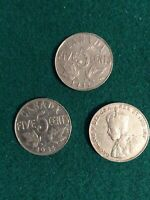 CANADA 1934 FIVE CENTS KING GEORGE V NICKEL CANADIAN COIN