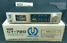 Pioneer CT-720 Cassette Deck WORKING & REFURBISHED Direct Drive Tape Blue Line