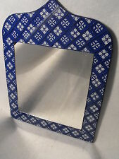 Moroccan style Glass Square Mosaic Frame Mirror BLUE MORROCAN MORROCO MIRROR NEW