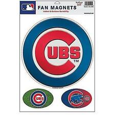 4a9085907 New Licensed Chicago Cubs Superfan Magnet Set HUGE 11