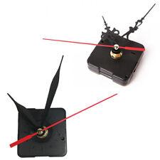 Orologio Da Parete Lancette Design Nero Meccanismo Quartz Piccolo Moderno 546