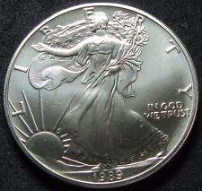 1989 Silver Eagle Fresh BU Roll of 20 Low Mintage
