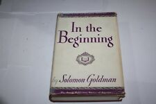 IN THE BEGINNING THE BOOK OF HUMAN DESTINY R' Goldman