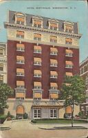 Washington, DC - Hotel Martinique - ADVERTISING - 1937 - LINEN