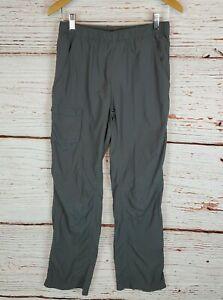 Columbia Hiking Pants Boys XL Nylon Cargo Outdoor Gray Packable Mens XS