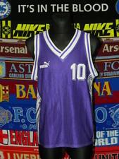 5/5 Puma adults L/M MINT #10 basketball kit shirt + shorts retro vintage