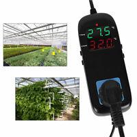 -40 ~ 120 Prise de contrôleur de température de thermostat numérique pour serre