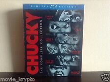 Chucky: The Complete Collection (Blu-ray Disc, 2013, 6-Disc Set) *BRAND NEW*