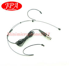 Black Dual Headset Mics JPA Headworn Mic FOR Carvin (TA4F) Wireless Mics system