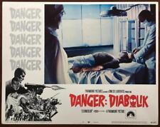 John Phillip Law DANGER: DIABOLIK 1968  #7 Org Lobby Card 244