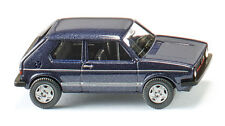 Wiking 004502 VW Golf I GTI - heliosblau metallic 1:87 (H0)