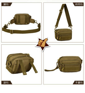 Multipurpose Handbag Men Tactical Molle Messenger Bag